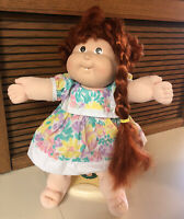 Vintage Growing Hair Cabbage Patch Kid Doll Red Hair