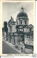 lo 084 Anni 30 BRESCIA Torre del Popolo e Duomo- FP - non viagg. Ed. De Lucia BS
