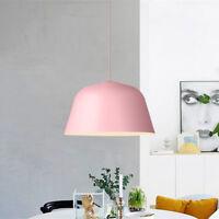 Bar Pendant Light Pink Chandelier Lighting Kitchen Lamp Modern Ceiling Lights