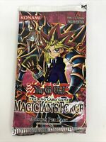 One Yugioh Magicians Force Booster Pack Sealed Unopened Unweighed Konami
