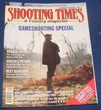 SHOOTING TIMES MAGAZINE SEPTEMBER 26-OCTOBER 2 1991 - GAMESHOOTING SPECIAL