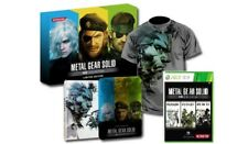 METAL GEAR SOLID HD Collection COLLECTOR Limited UK steelbook XBOX 360 fr NEUF