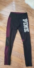 PINK VICTORIA'S SECRET T cotton ANKLE LEGGING YOGA VS S