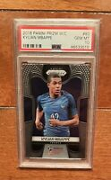 2018 Panini Prizm World Cup Kylian Mbappe ROOKIE RC #80 PSA 10 GEM MINT