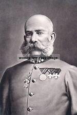mm939 - Austrian Emperor Franz Joseph I - Royalty photo 6x4