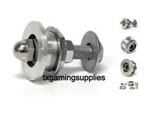 Prize Wheel Hub Assembly / bearings,  bolt,retaining  nut, washers, acorn nut