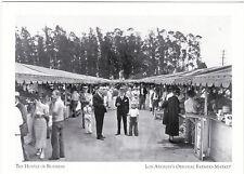 """Hustle of Business""  @ Los Angeles Farmers Market, CA. (#27) {Postcard}"