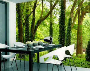 3D Nature Landscape Wallpaper Self-adhesive Wall Mural Removeable Wall Stickers