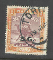 Sudan 1948 2p Camel Postman  with RARE Torit Cancel On Part Piece  Used