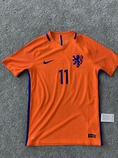 Authentic Nike Dutch Netherlands National Aeroswift Player Match Issue Jersey