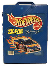 Hot Wheels 48 Car Carry Case With 48 Vintage Cars.