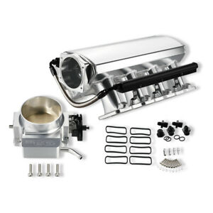 102mm High Profile Intake Manifold LS1 LS2 LS6 & Fuel Rail 92mm Throttle Body SL