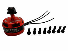 Racerstar Racing Edition Red BR2205 2300kv 2-4s CCW FPV Racing Motor
