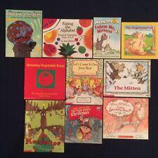 Bulk Lot of 10 Children's Picture Books for Christmas, Ages 4-8, Paperbacks