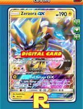 Zeraora GX - Regular Art - for Pokemon TCG Online (DIGITAL ptcgo in Game Card)