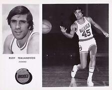 Vintage Rudy Tomjanovich Houston Rockets Team Issued 8x10 Basketball Photo