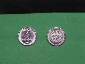 BRAZIL  1986  1  CENTAVO  KM600 UNCIRCULATED  COIN