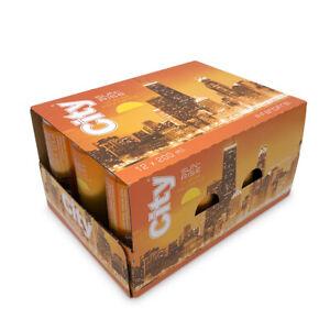 60 x City Sunrise Orange Frizzante 5,5 % Vol / 200ml