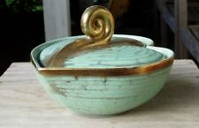 Kitchy Mid-Century Modern Carstens Tonnieshof Covered Heart Dish Mint Condition!