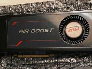 MSI Radeon RX Vega 56 Air Boost 8GB OC GPU Graphics Card amd GPU NO RESERVE