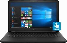 "New HP 15.6"" TouchScreen laptop i3-8130u 8GB RAM 256GB SSD DVD HDMI WIFI win 10"