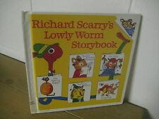 Richard Scarry's Lowly Worm Storybook/ hardback/ 1989/ animal stories