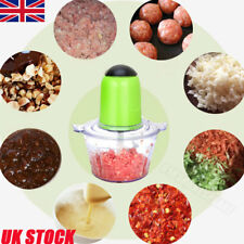 UK 2L Electric Meat Grinder Sausage Maker Tool Stainless Steel Electric Mincer