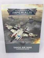Taros Air War Aeronautica Imperialis Campaign Book Warhammer 40K Free Shipping