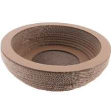 Cat Scratcher Collapsible Scratching Corrugated Cardboard Cat Lounge Bed Pet Toy