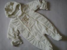NICE WARM NEXT WINTER BABY BOY OR GIRL  SNOWSUIT 3/6 MTHS (0.6)