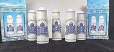 Amsterdam Coat of Arm Heldhaftig Vastberaden Barmhartig 5 Salt & Pepper Shakers
