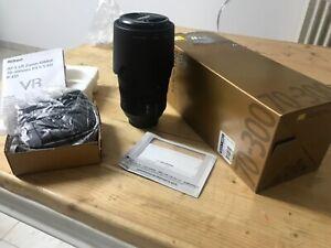 zoom Nikon Nikkor Lense AF-S VR 70-300 f4.5-5.6