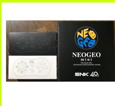 NEOGEO mini Japan Game Console + PAD Controller Black White SNK neo geo Japanese