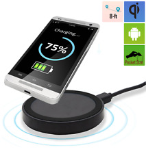 Qi Power Bank Wireless Charging Pad Charger for Samsung Galaxy S7 S8 S9, Note 5+