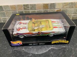 Hot Wheels Mattel 1/18 Lowrider 1965 Chevy Impala Boxed