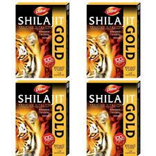 DABUR SHILAJIT GOLD 10-100 CAPS FOR VIGOUR & STAMINA AYURVEDIC SUPPLEMENT