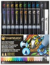 CHAMELEON DELUXE SET 22 Color Tones Colour Blending Changing Ink Pens System NEW