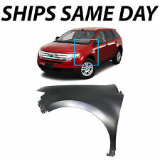 NEW Primered - Drivers Front Left LH Side Fender For 2007-2010 Ford Edge SUV