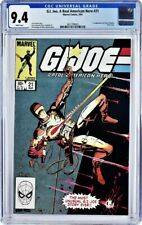 G.I. Joe #21 CGC 9.4 WHITE pages 1st Edition