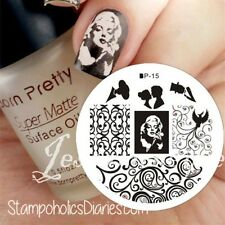 Nail Art Stamp Template Image Stamping Plates  DIY BORN PRETTY #15