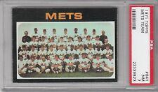 1971 Topps Baseball Mets Team #641 (Semi-High Number) PSA 7