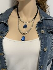 Collar Boho Necklace, vintage necklace, zamak Necklace, uno de 50 style necklace