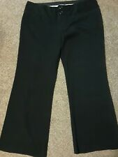 Maurice's black dress pants 15/16 short