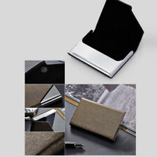 Business Stainless Steel Name Credit ID Card Holder Box Metal Pocket Box Case