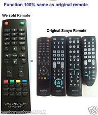 Sanyo Replace Remote for DP32640 DP42740 DP42841 DP46841 DP50741 DP50842 DP50E44