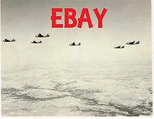 WWII RARE PHOTO USAAF B-24 LIBERATOR BOMBERS IN FLIGHT FORMATION AERIAL LOOK