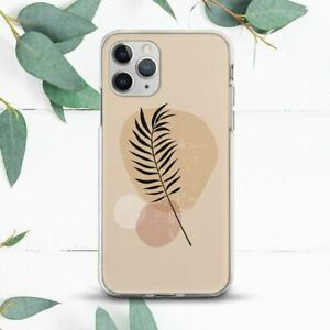 Aesthetic Leaf Modern Minimalist Case For iPhone 7 8 X SE 11 12 13 Pro Max XR