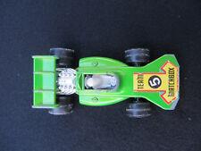 1973 Vintage Matchbox Superfast 24 Team 5 Lime Green Race Car Lesney England