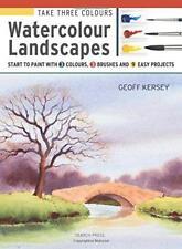 Prendere tre colori: paesaggi ad acquerello: inizio a dipingere con 3 colori, 3 Bru