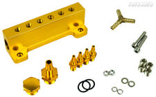 Rev9 Turbo Wastegate Actuator Vacuum manifold Distributor 6 port Hub Splitter GD